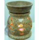 Oil Burner~ Bohemian Hippy Hand Carved Large Daisy Flower Oil and Wax Melt Burner~ By Folio Gothic Hippy OB810